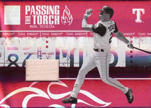 Mark Teixeira 2005 Donruss Elite Passing the Torch Bat 250枚限定!