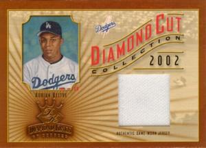 Adrian Beltre 2002 Diamond Kings Diamond Cut Collection Jersey 400枚限定!