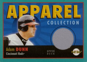 Adam Dunn 2004 UD Play Ball Apparel Collection Jersey