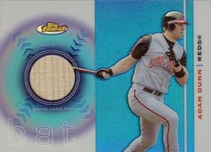 Adam Dunn 2003 Finest Bat Relics