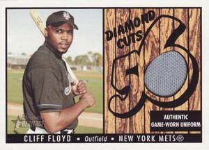 Cliff Floyd 2003 Bowman Heritage Diamond Cuts Uniform