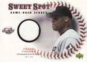 Frank Thomas 2001 Sweet Spot Game Jersey