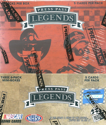 2011 Press Pass Racing Legends パック  11/8入荷