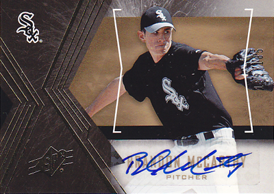 Brandon McCarthy 2005 UD SP Collection SPx Signature 185枚限定!