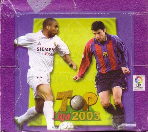 【サッカーカード】 02/03 MC Top LIGA Box (ボックス) / スペインリーグトレーディングカード