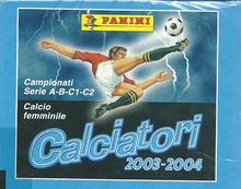 【サッカー】 SC 03/04 Panini Calciatori ステッカー (イタリアリーグ ステッカー) Box (ボックス)