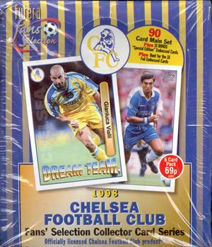 【サッカーカード】 SC 1998 Futera Fans Selection Chelsea Box (ボックス) / チェルシートレーディングカード