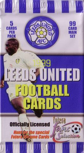 【サッカーカード】 SC 1999 Futera Fans Selection Leeds United Pack (パック) / リーズ・ユナイテッド トレーディングカード