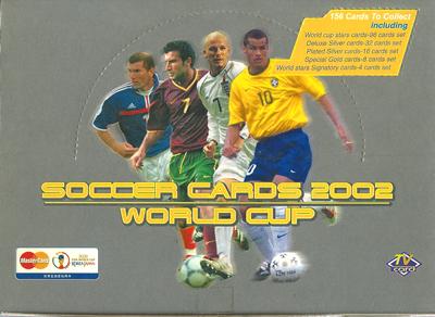 【サッカーカード】 SC 2002 FIFA World Cup (中国版) Box (ボックス) / ワールドカップトレーディングカード