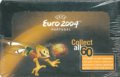 【サッカーカード】 SC 2004 Euro CD-Rom Box (ボックス)