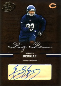 Bernard Berrian 2004 Playoff Hogg Heaven Pig Pens Autographs 125枚限定!