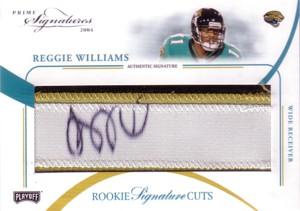 Reggie Williams 2004 Playoff Prime Sigatures Rookie Autograph 99枚限定!