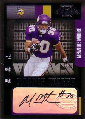 Mewelde Moore 2004 Playoff Contenders Rookie Ticket Autograph 435枚限定!