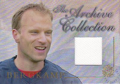 【デニス ベルカンプ】 2004 Futera World Football Game Jersey 250枚限定!(162 of 250) (Dennis Bergkamp) (ジャージカード)(サッカーカード)