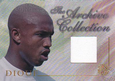 【エル=ハッジ ディウフ】 2004 Futera World Football Game Jersey 250枚限定!(226 of 250) (El-Hadji Diouf) (ジャージカード)(サッカーカード)