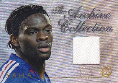 【ルイ サハ】 2004 Futera World Football Game Jersey 250枚限定!(243 of 250) (Louis Saha) (ジャージカード)(サッカーカード)