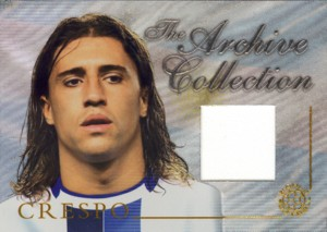 Hernan Crespo 2004 Futera Jersey 250枚限定!