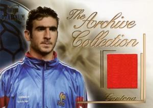 Eric Cantona 2003 Futera Jersey 250枚限定!