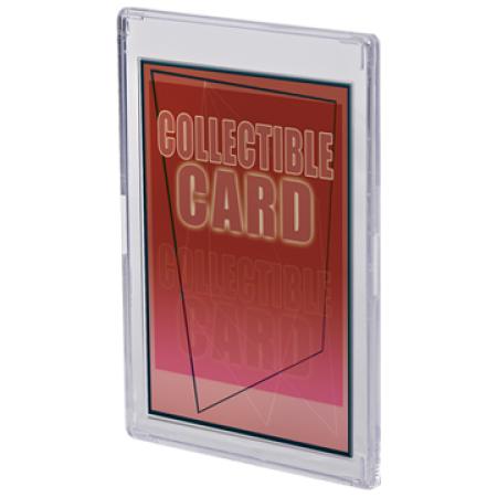 ウルトラプロ (Ultra Pro) スナップ カードホルダー 溝ありタイプ #81138   Recessed Snap Card Holder