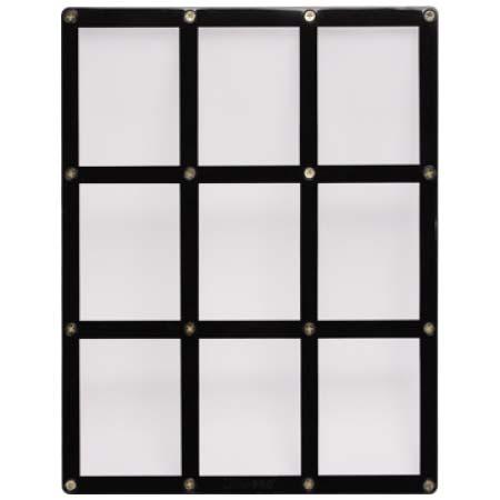 ウルトラプロ(Ultra Pro) 9カード用 黒枠フレーム スクリューダウン #81204 | 9-Card Black Frame Screwdown Holder