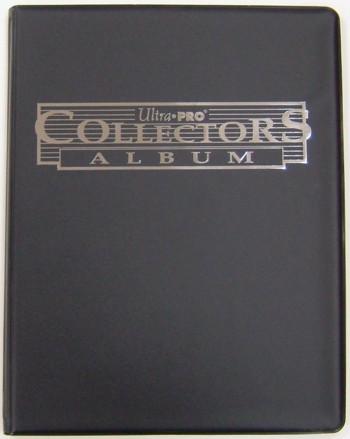 ウルトラプロ(Ultra Pro) 9ポケットポートフォリオ ブラック #81366 | 9-Pocket Black Collectors Portfolio