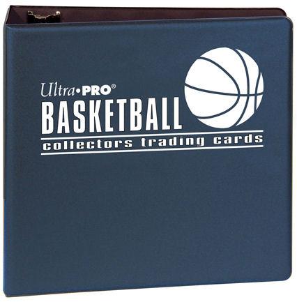 "Ultra Pro (ウルトラプロ) バスケットボールアルバム ネイビー 3リング (#81393) | 3"" Blue Basketball Album"
