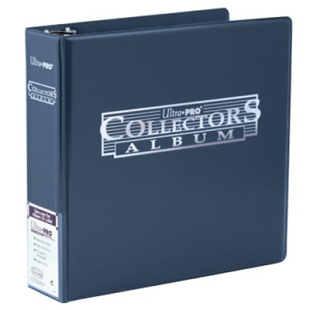 "Ultra Pro (ウルトラプロ) コレクターズアルバム ネイビー 3リング (#81398) | 3"" Blue Collectors Album"