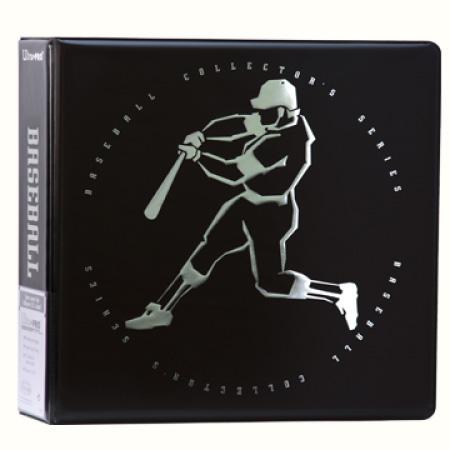 "Ultra Pro (ウルトラプロ) ベースボールアルバム ブラック トップドッグ 3リング (#84521) | 3"" Top Dog Baseball Black Album"