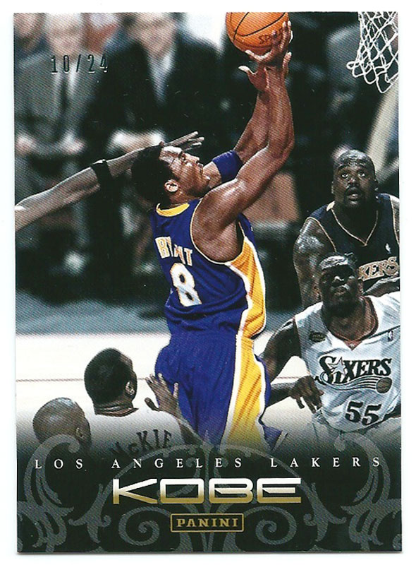コービー・ブライアント 2012-13 Panini Kobe Anthology Gold No.52 10/24