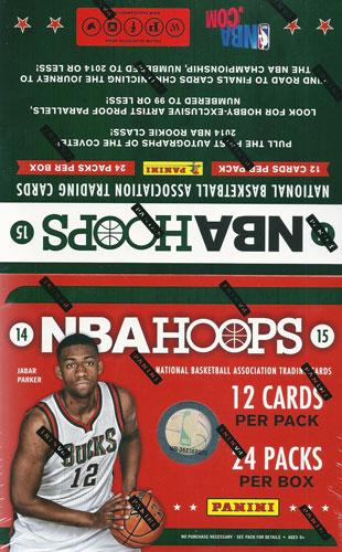 NBA 2014-15 Panini Hoops Basketball Hobby