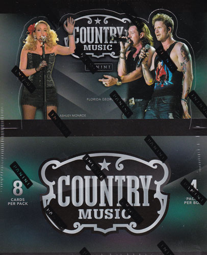 2014 Panini Country Music Trading Cards トレーディングカード