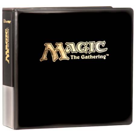 Ultra Pro (ウルトラプロ) マジック・ザ・ギャザリング アルバム ブラック 3リング Magic The Gathering (#82144)