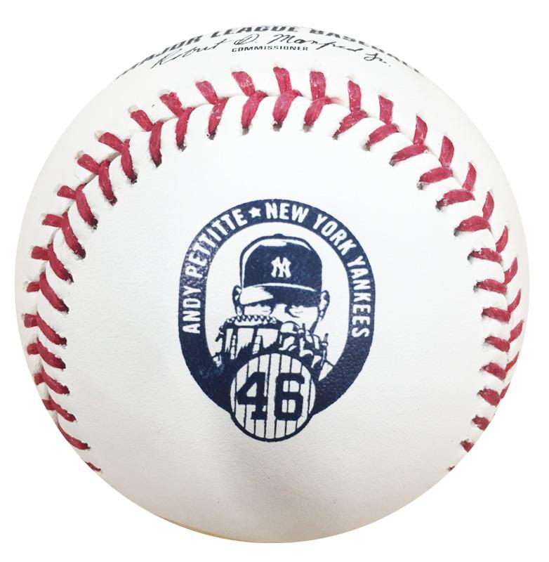 MLB アンディ・ペティット 引退記念ボール ローリングス (Andy Pettitte)