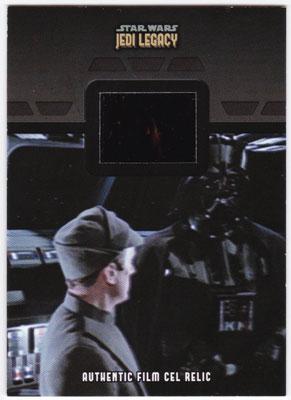 2013 Topps Star Wars Jedi Legacy Authentic Film Cel Relic FR-21