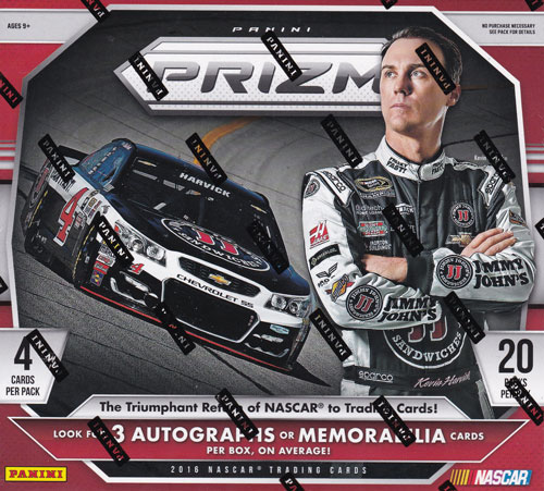 レーシングカード 2016 Panini Prizm Racing 送料無料、8/5入荷!