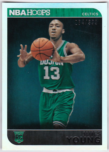 ジェームス・ヤング 2014-15 Panini Hoops Rookie Silver 264/399 James Young