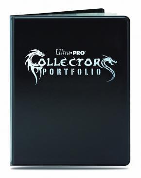 ウルトラプロ(Ultra Pro) 9ポケット ゲーミング コレクターズ ポートフォリオ ブラック #84395-P | 9-Pocket Gaming Collectors Portfolio