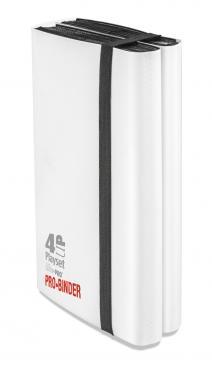 Ultra Pro (ウルトラプロ) 4アップ プレイセット プロバインダー ホワイト (#84604)| 4-UP Playset PRO-Binder White