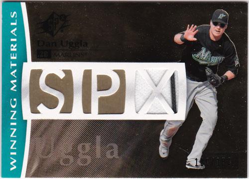 ダン・アグラ 2008 SPx Winning Materials Jersey 100/150 Dan Uggla