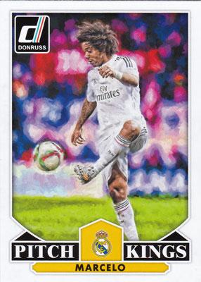 マルセロ 2015 Panini Donruss Soccer Pitch Kings #19 Marcelo