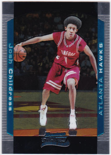 ジョシュ・チルドレス 2004-05 Bowman Chrome Rookie Card #126 Josh Childress