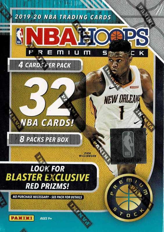 NBA 2019‐20 Panini Hoops Premium Basketball Blaster Box 2/10入荷