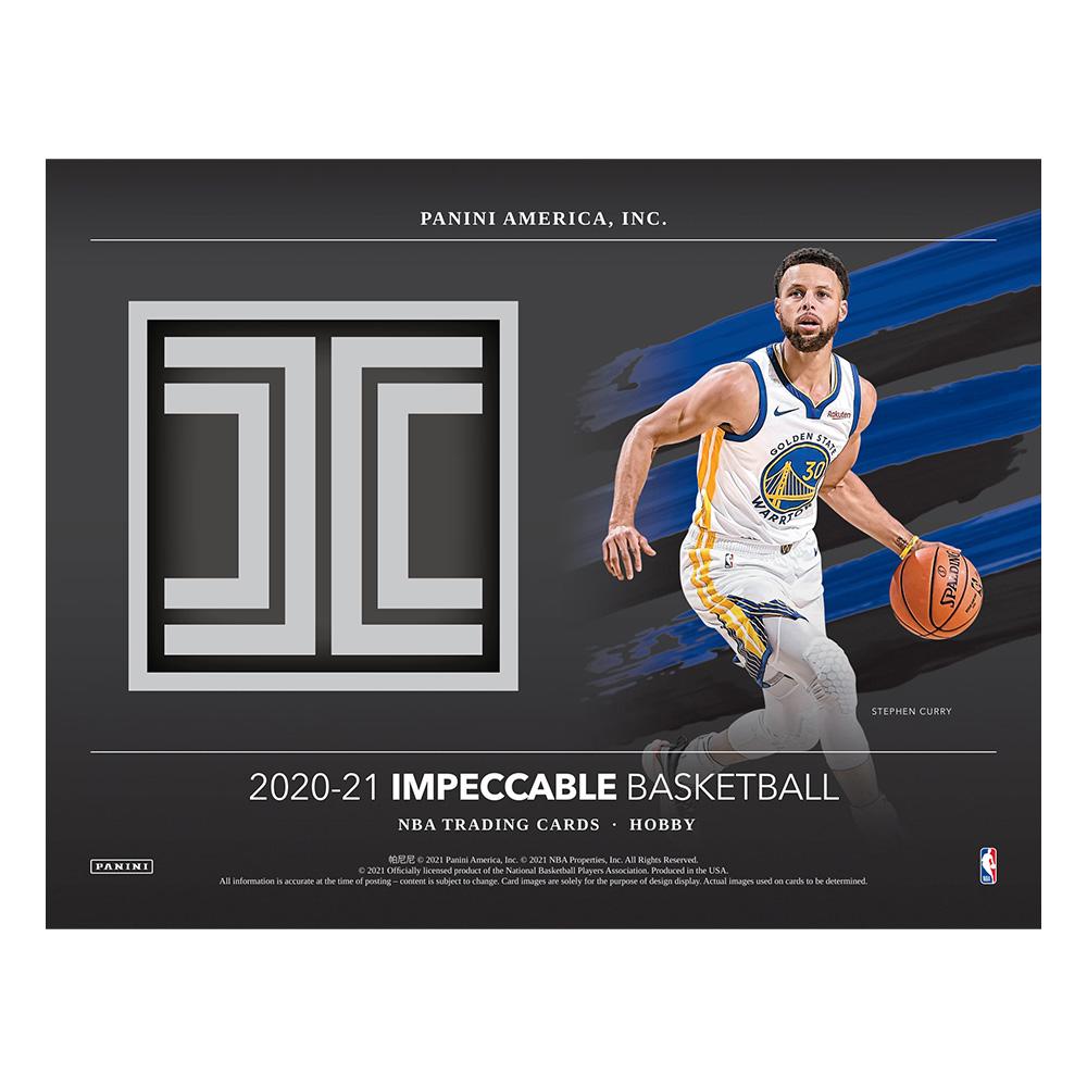 NBA 2020-21 Panini Impeccable Basketball 6/16入荷
