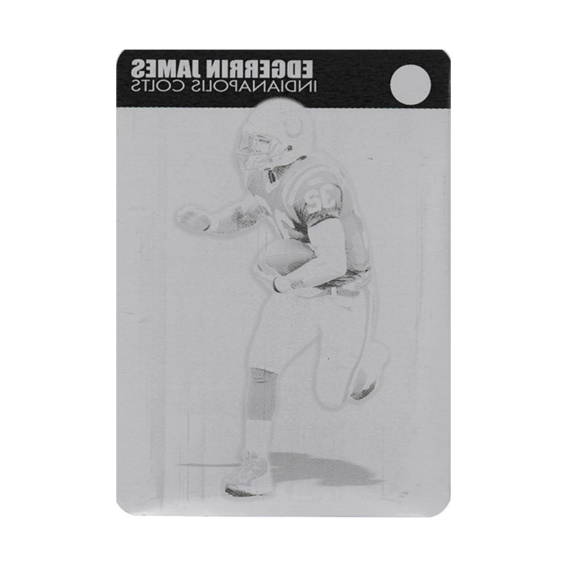 エジャリン・ジェームズ 2004 Topps Pristine Black Printing Press Plates / Edgerrin James