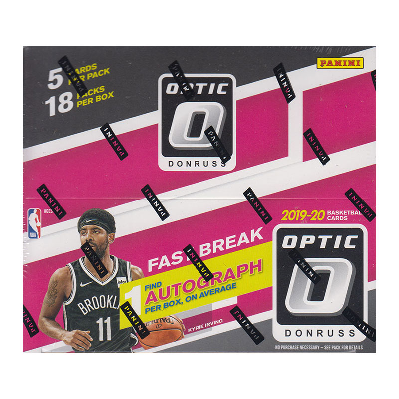 NBA 2019-20 Panini Donruss Optic Basketball Fast Break 2/19入荷!八村塁封入