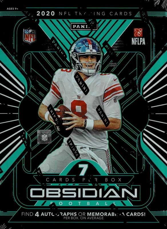 NFL 2020 Panini Obsidian Football 12/23入荷