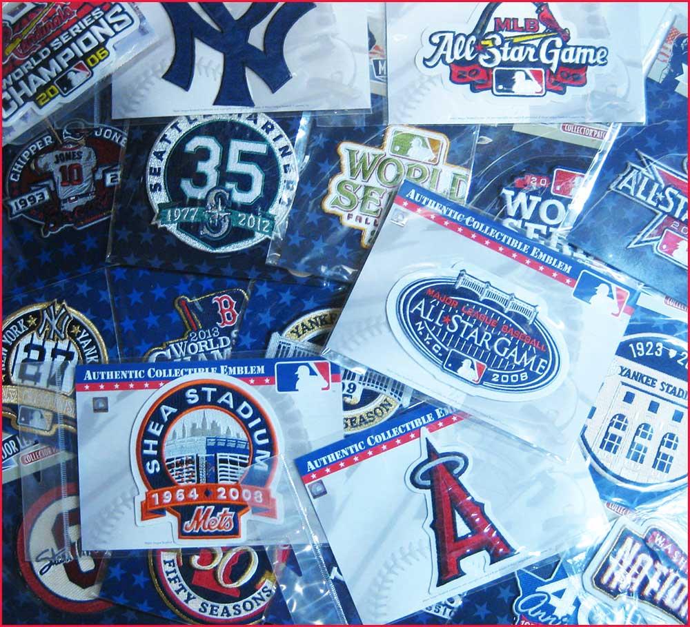(セール)MLB ロゴパッチ 10枚セット