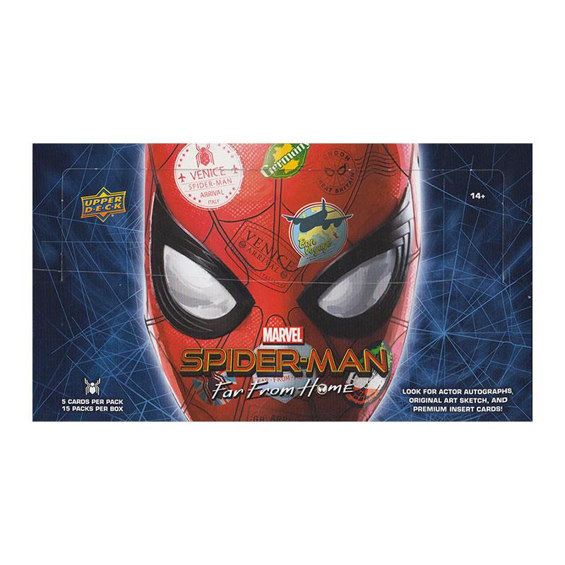 スパイダーマン:ファー・フロム・ホーム 2019 Upper Deck Marvel Spider-Man Far From Home Trading Cards、価格はASK 店頭販売中!12/19入荷!