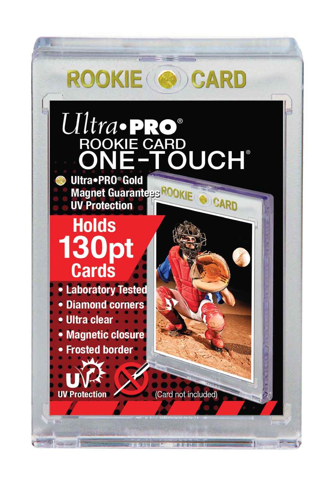 Ultra Pro (ウルトラプロ) UVワンタッチマグネットホルダー ルーキーカード 130PT 3.5mm厚 UV (#82310)