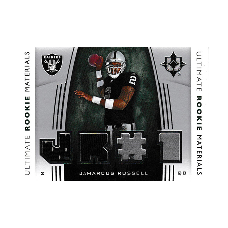 ジャマーカス・ラッセル 2007 UD Ultimate Collection Ultimate Rookie Materials / JaMarcus Russell